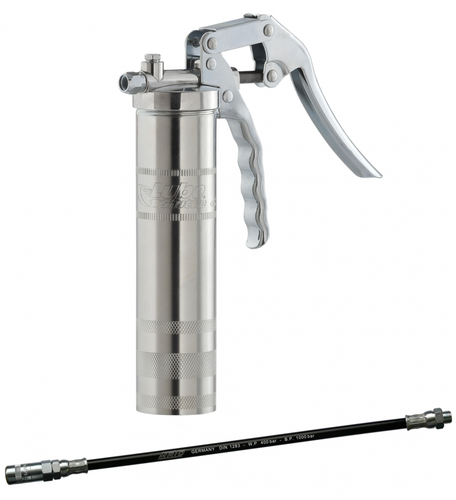 lube shuttle one hand grease gun